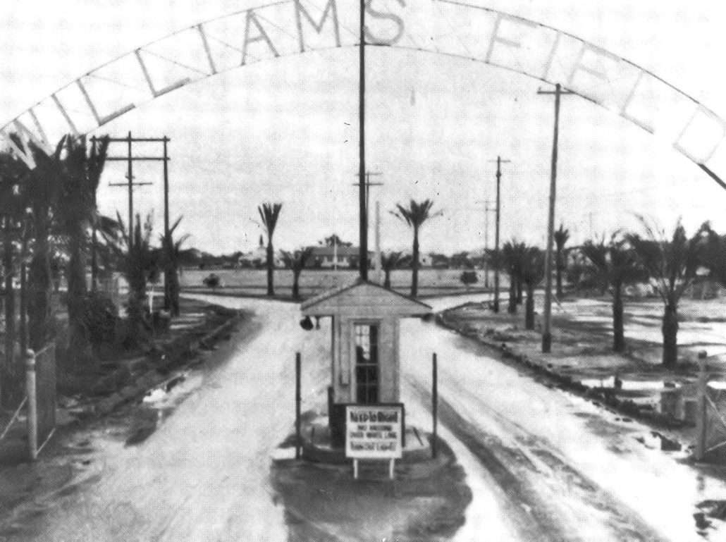 Williams Airforce Base, 1942. Courtesy of The Wikimedia Commons