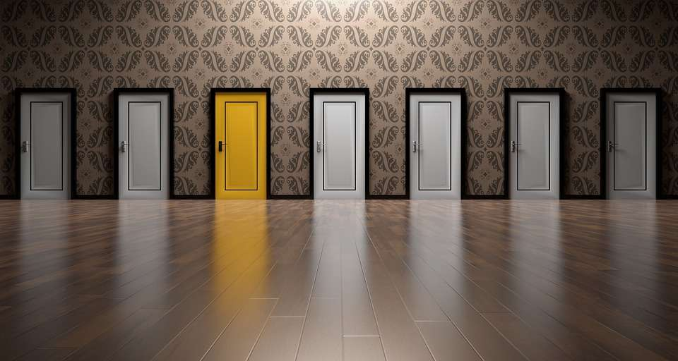 doors signifying choice of property management company