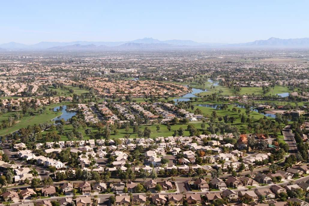 Ocotillo Neighbourhood Near Chandler Arizona